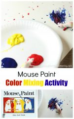 Color Exploring Mouse Paint Activity