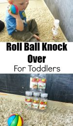 Roll Ball Knock Over For Toddlers