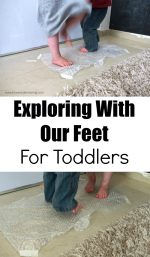 Exploring With Our Feet For Toddlers