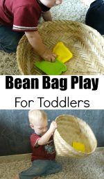 Bean Bag Play For Toddlers