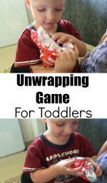 Unwrapping Game For Toddlers