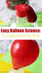 Easy Balloon Science Experiment for Kids
