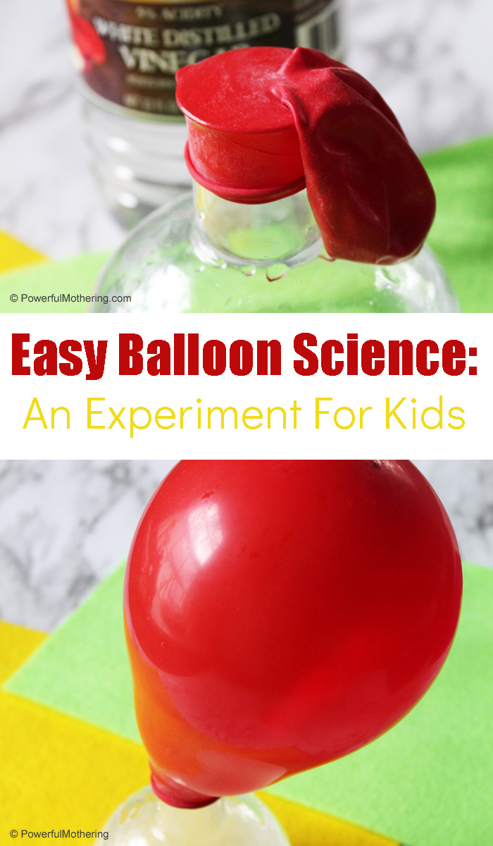 Balloon Science Experiment For Kids