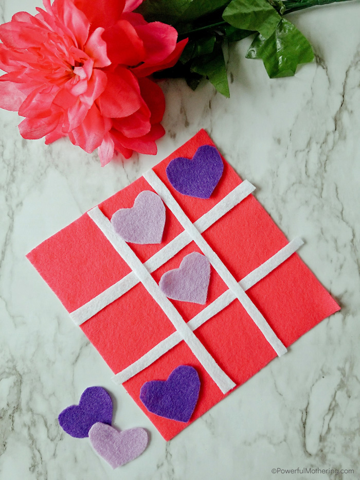 DIY Felt Tic Tac Toe Game
