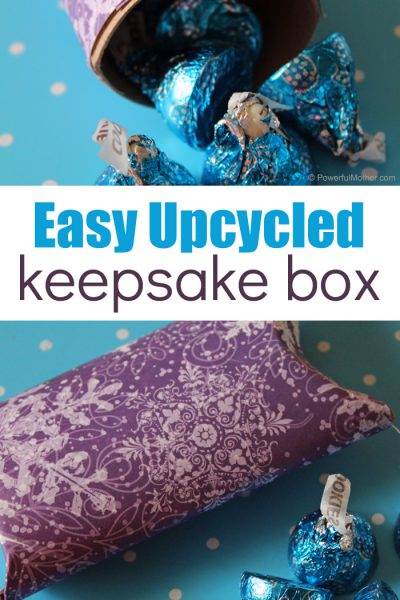 Easy Upcycle Keepsake Box For Kids