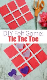 Felt Tic Tac Toe Craft for Kids