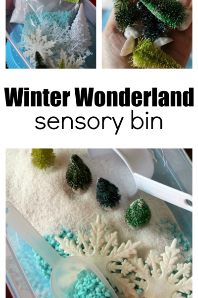 How To Set Up A Winter Sensory Bin Invitation
