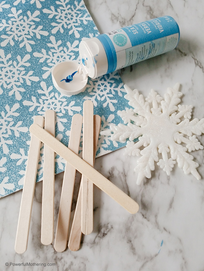 Supplies Needed For Snowflake Craft
