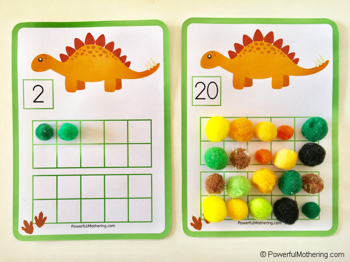 Comparing Numbers With Dinosaurs