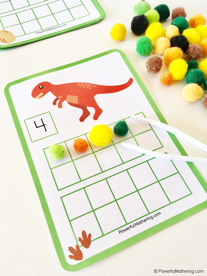 Dinosaur Math For Kids