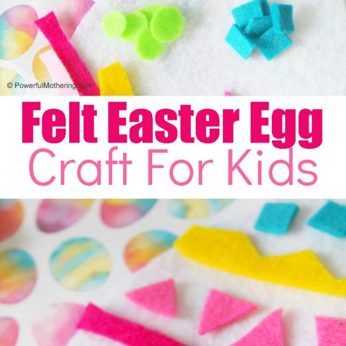 Easter Craft For Kids With Felt
