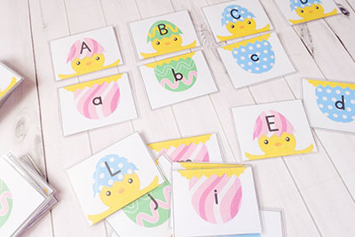 Easter Abc Case Matching