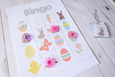 Easter Bingo Game