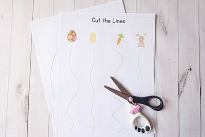 Easter Cutting Pages