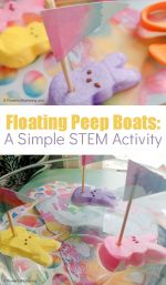 Sink or Float Peep Sail Boats