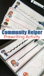 Community Helper Prewriting Practice