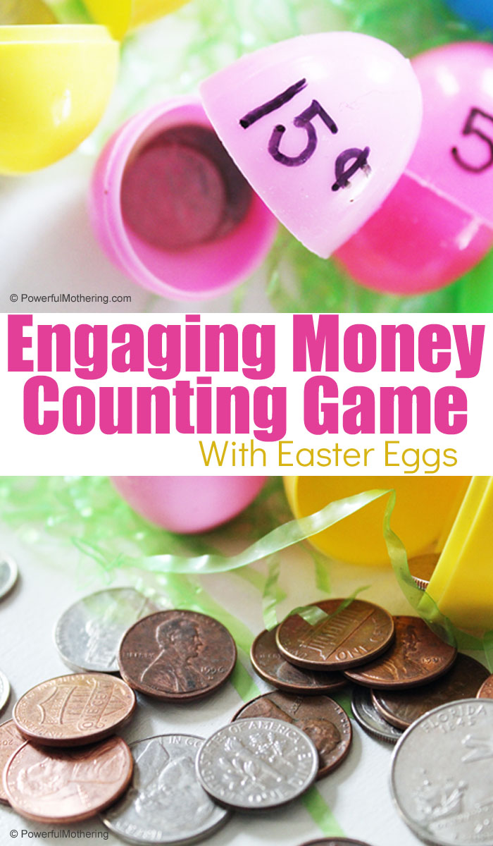 A fun and engaging Money Counting Game with Easter Eggs. This is a perfect game for Springtime. Great for introducing and practicing money counting and addition!