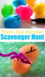 Alphabet Game – Scavenger Hunt for Kids