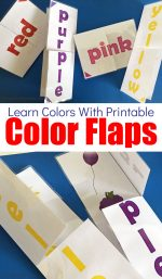 Free Printable Color Flap Activity To Help Teach Colors