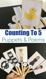 Printable Animal Puppets & Nursery Rhymes for Toddlers