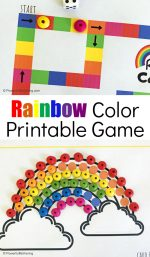 Printable Rainbow Colors Game