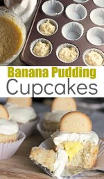 Simple and Delicious Banana Pudding Cupcakes