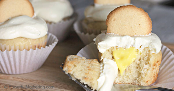 Delicious and sweet Banana Pudding Cupcakes. A simple recipe with a fancy result. A fantastic way to show someone in your life just how special they are.