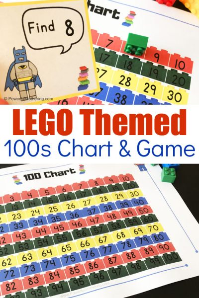 Free Printable LEGO 100s Chart and Game
