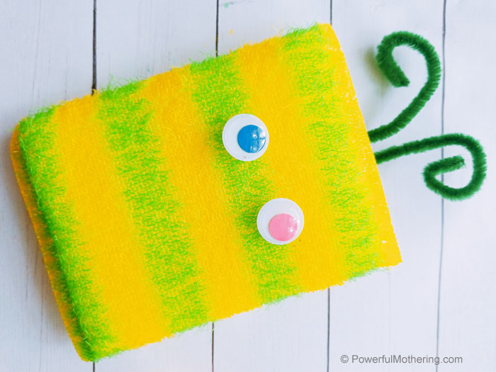 How To Create An Upcycled Sponge Monster Craft