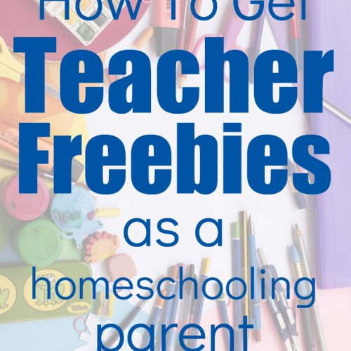 Did you know that Homeschooling Parents can get teacher freebies too? These tips are the surefire ways to get the freebies!
