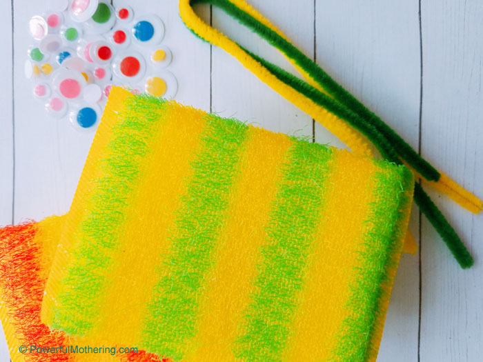 A simple craft for kids with an upcycle twist!