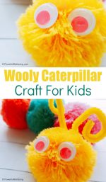 Wooly Caterpillar Craft for Kids