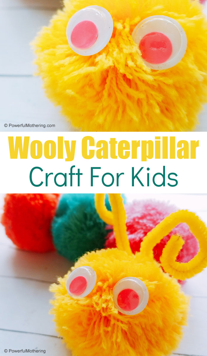 A fun caterpillar craft for preschoolers