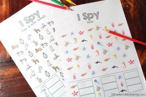 Ispy Game For Preschool
