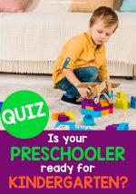 Is your Preschooler ready for Kindergarten? Take the Quiz
