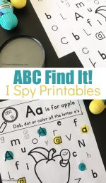 Free Printable Find It ABC I Spy Game