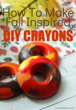 Homemade Fall Crayons Recipe