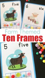 Farm Ten Frame Printable