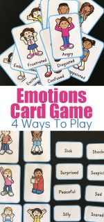 Exploring Feelings With A Printable Emotions Card Game – 4 Ways To Play
