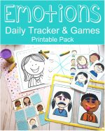 Emotions Daily Tracker & Games Printable Pack