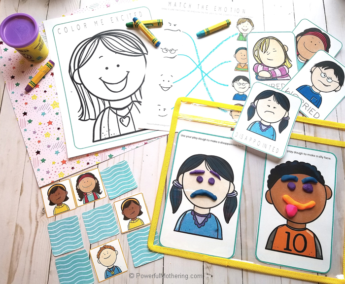 Emotions Printable Pack includes a variety of activities to help children learn all about emotions!