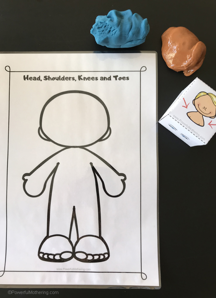 A simple way to help children understand and learn body parts in a fun and hands on way!
