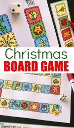 A Fun Printable Christmas Board Game