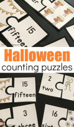 Free Printable Halloween Counting Puzzles