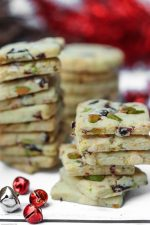 Cherry & White Chocolate Pistachio Cookies