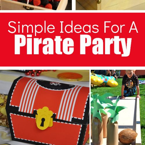 The Best Ideas For A Pirate Birthday Party For Kids! Kids will enjoy these pirate themed activities, snacks, treats and more!