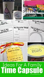Exciting Time Capsule Ideas For Families