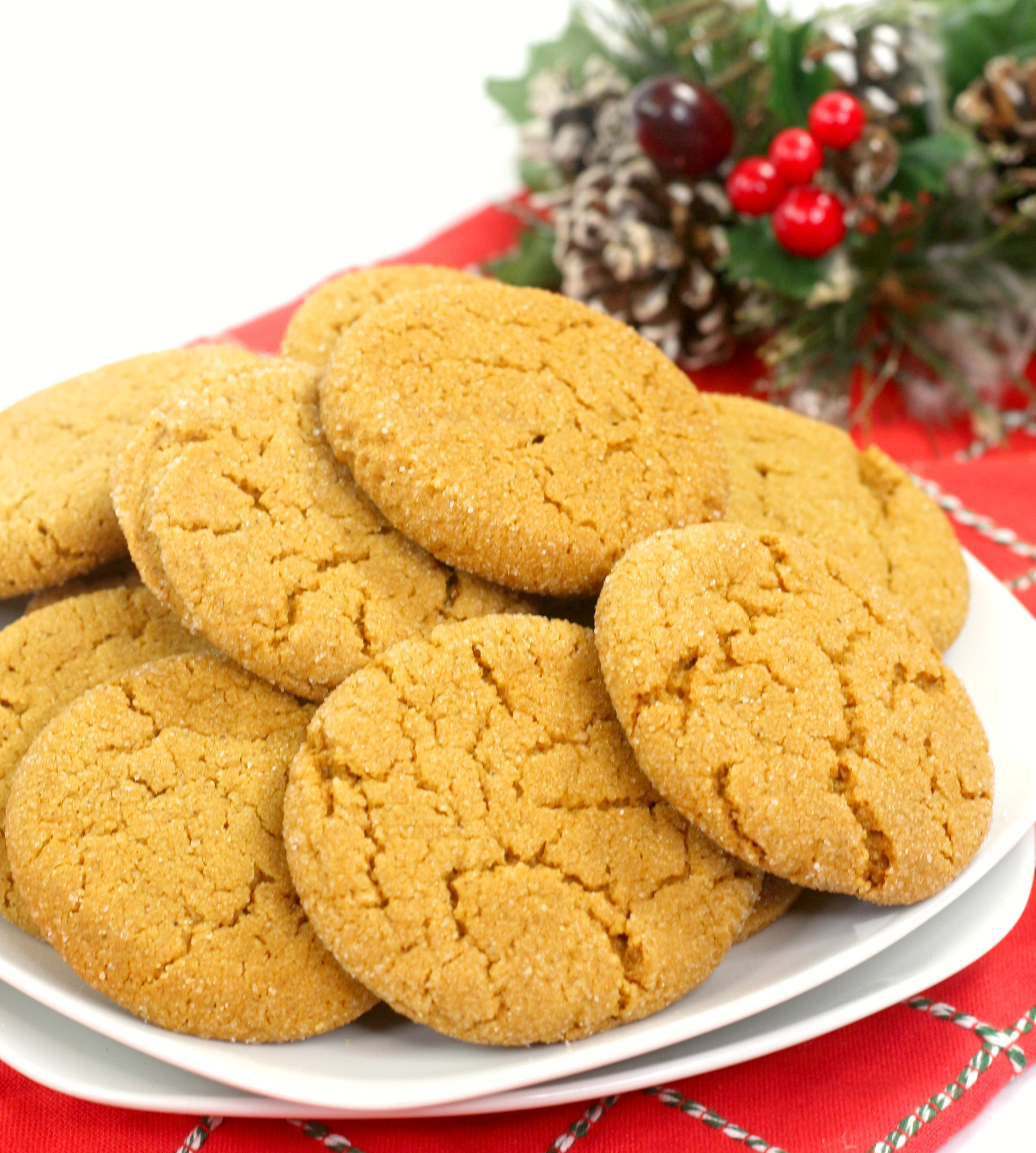 The Best Soft Baked Gingerbread Cookie recipe. These are the perfect holiday cookies to dip in hot chocolate or coffee.