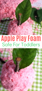Taste Safe Apple Foam Dough Recipe & Play