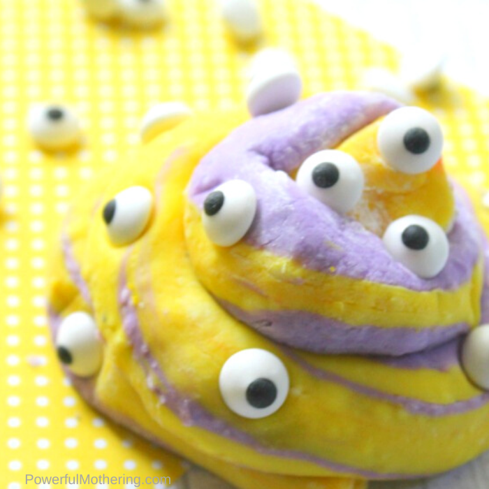 Simple taste safe slime recipe that is fun to make and fun to play with.
